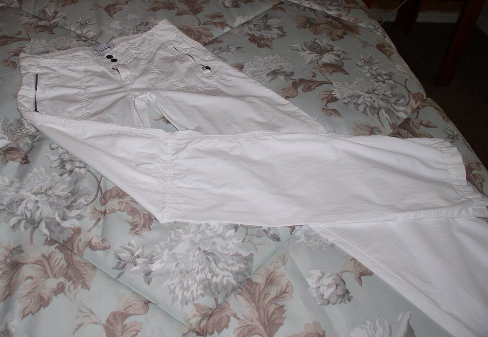 White Sanctuary Cargo Pants