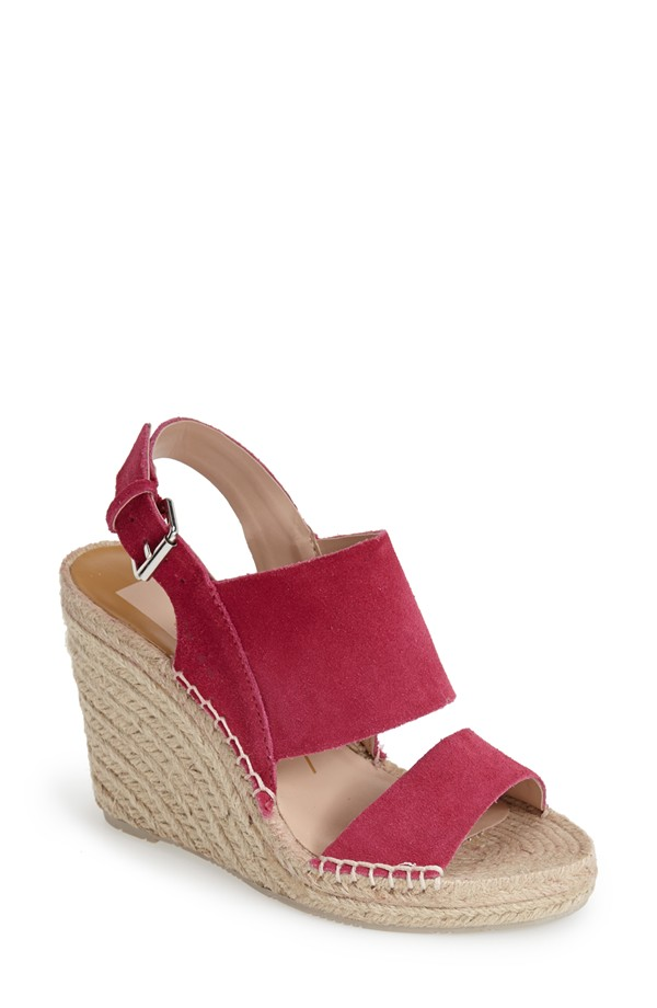 These wedges in the color Punch    here   .