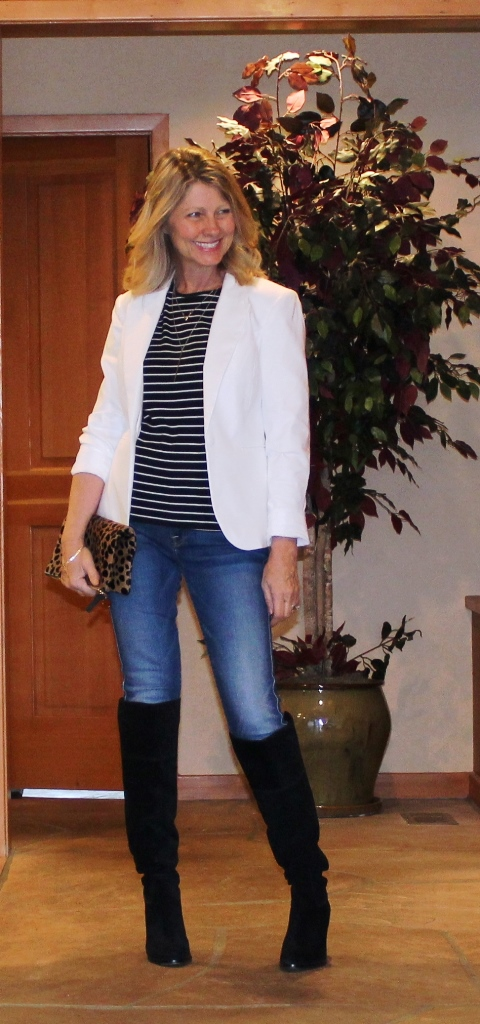 http://www.northwestmountainliving.com How To Wear White Blazer In The Fall