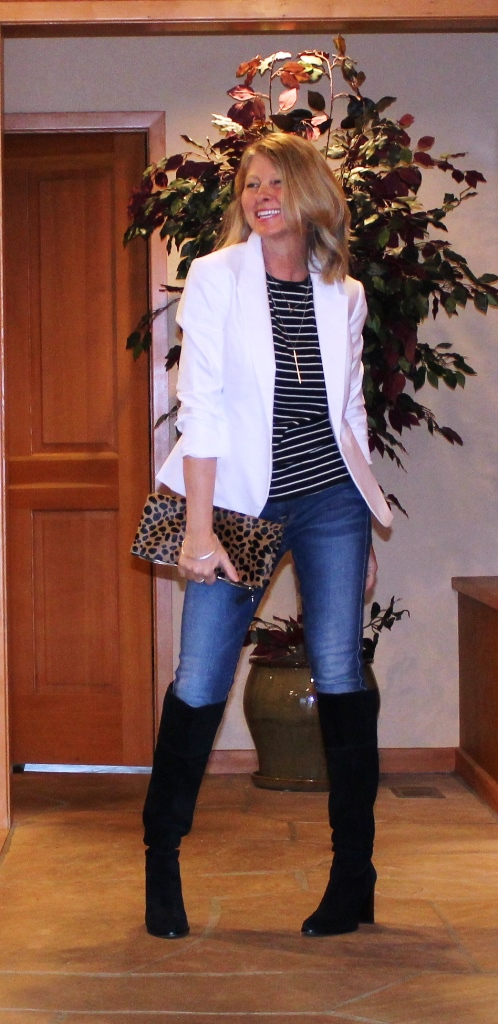 http://www.northwestmountainliving.com How To Wear White Blazer In Fall