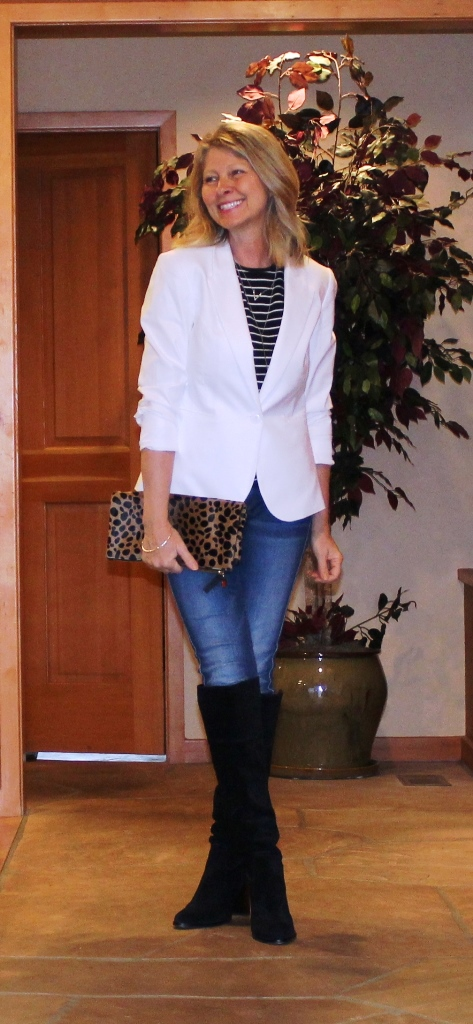 http://www.northwestmountainliving.com How To Wear A White Blazer IN The Fall