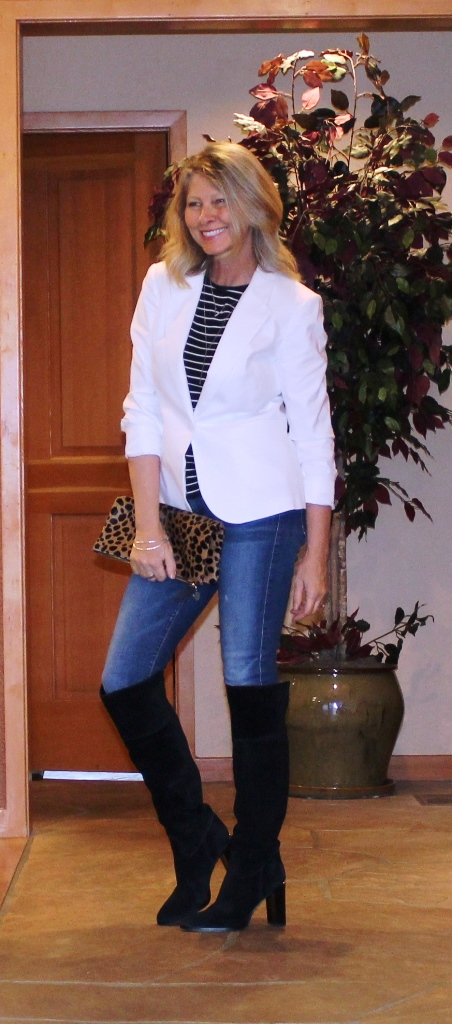 http://www.northwestmountainliving.com HowTo Wear White Blazer In The Fall