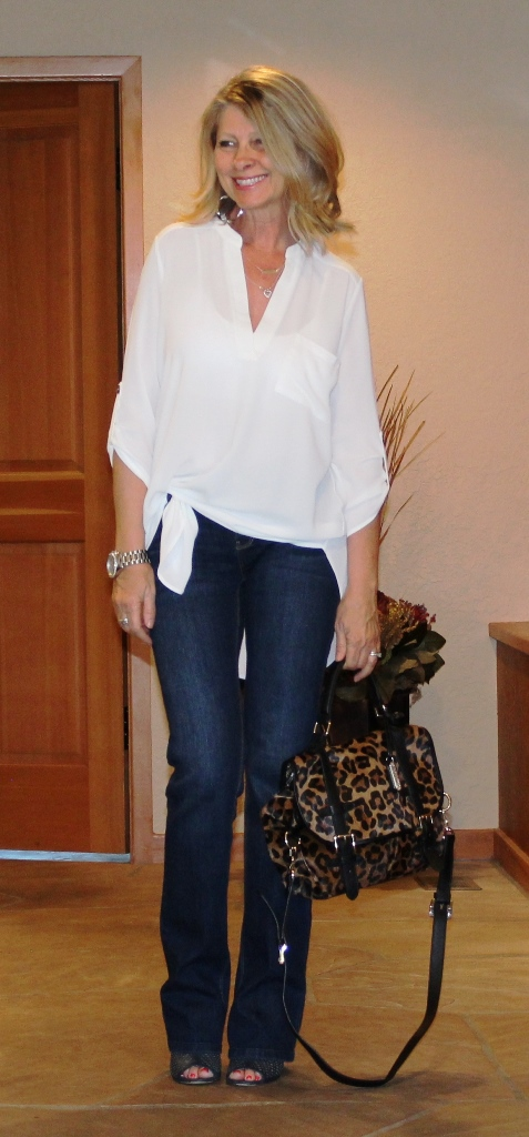 Click on picture for full post. Rockin' Denim Over 40 On Northwest Mountain Living & Style Boot Cut Jeans