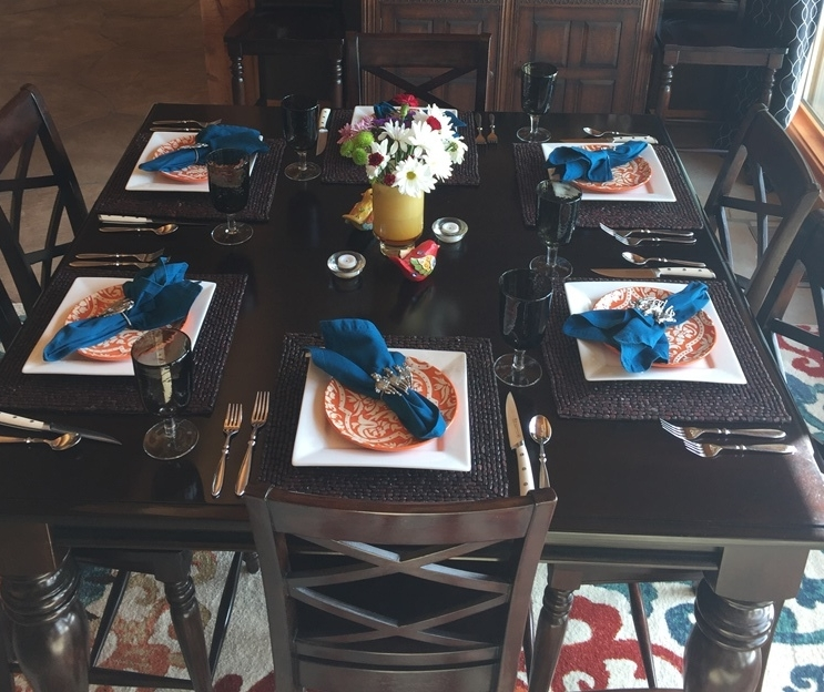 setting the table - The most fun part of entertaining!You get to go way outside the box creatively!