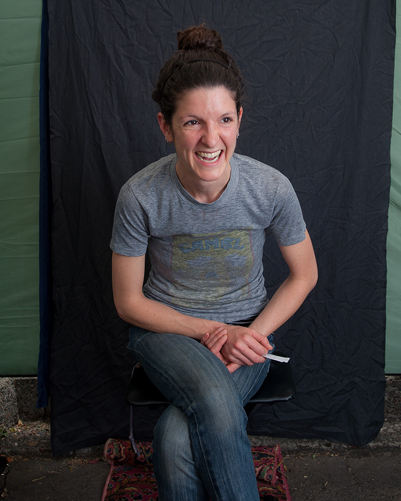 Katie DeNooyer. Sellwood Farmers Market, Portland, Oregon