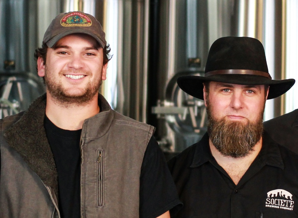 Founders Doug (left) and Travis (right) - Photo credit to New Brew Thursday