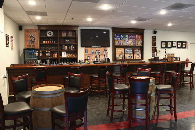 Heavy Seas tasting and events room