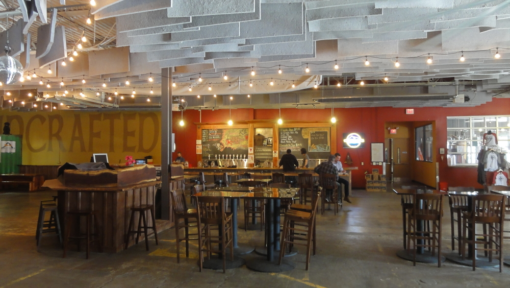 Taproom at Highland Brewing Company