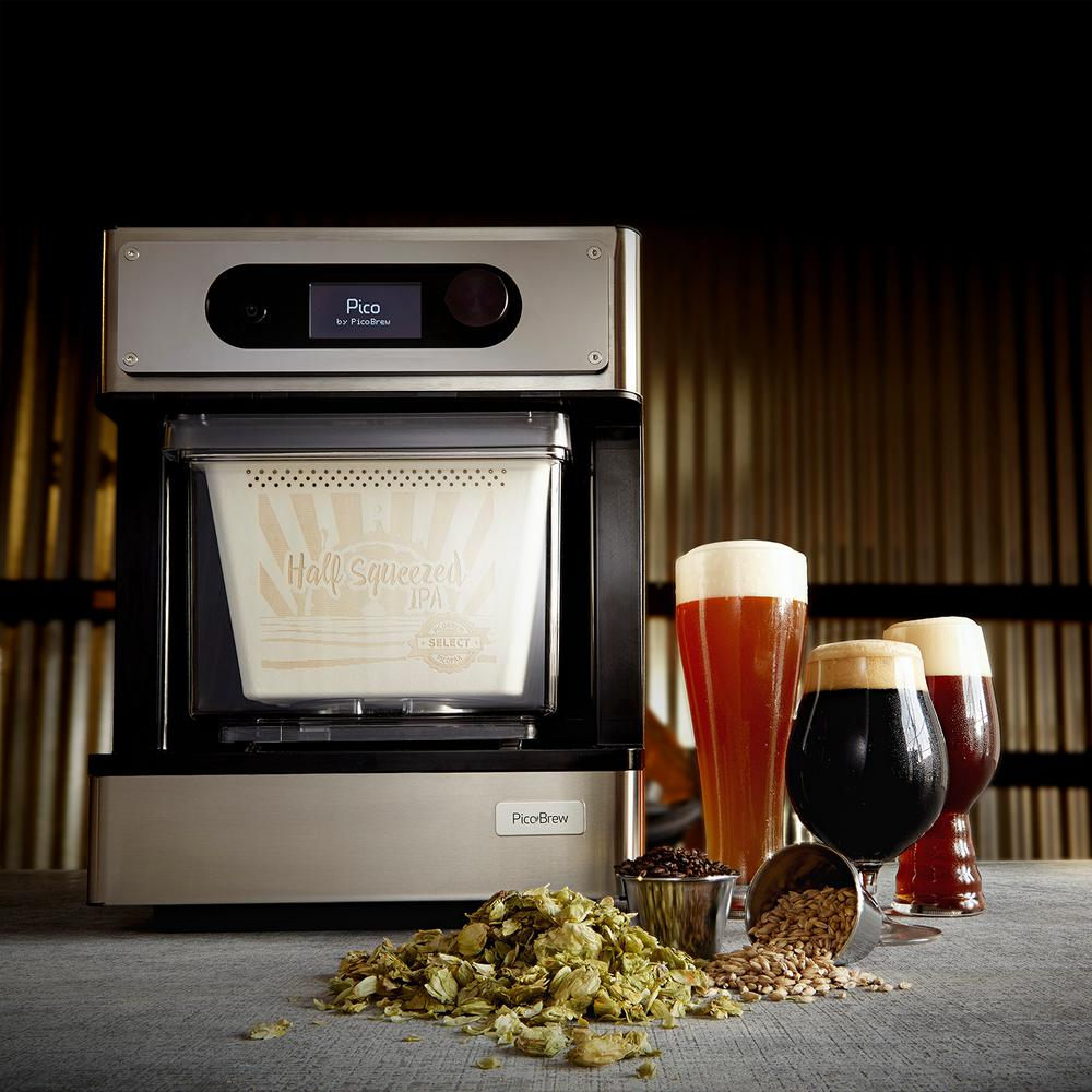 The most well known of the machines, the PicoBrew, has been on the market for a number of years now.