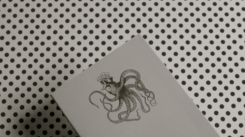Cuaderno pajaro pulpo