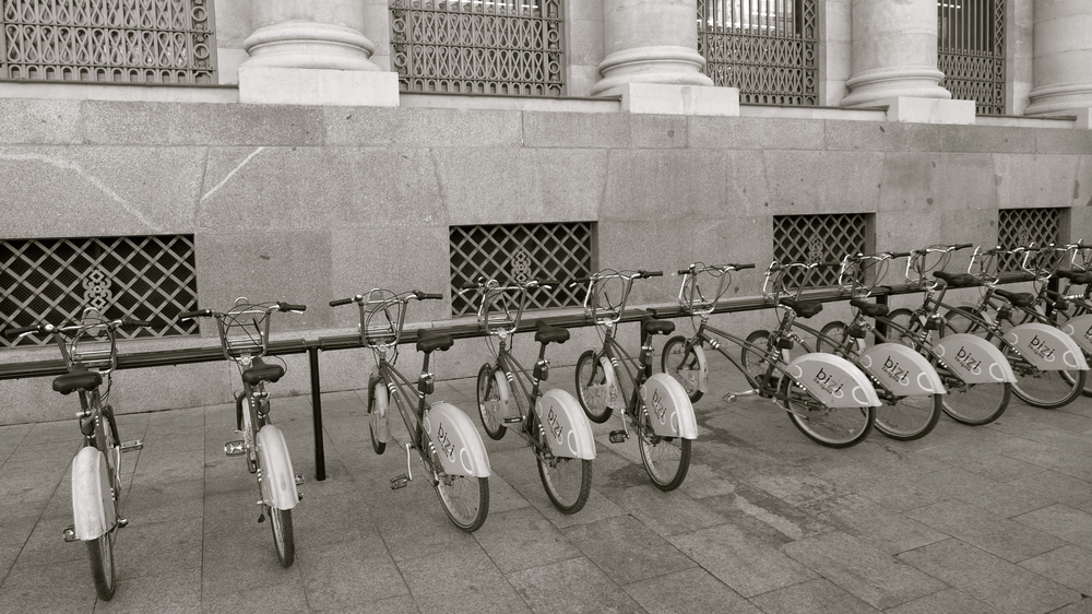 Once bicicletas entresuelo