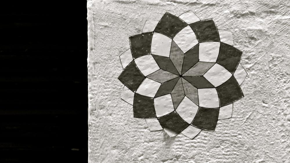 Papeles pared calle Estudios - 1