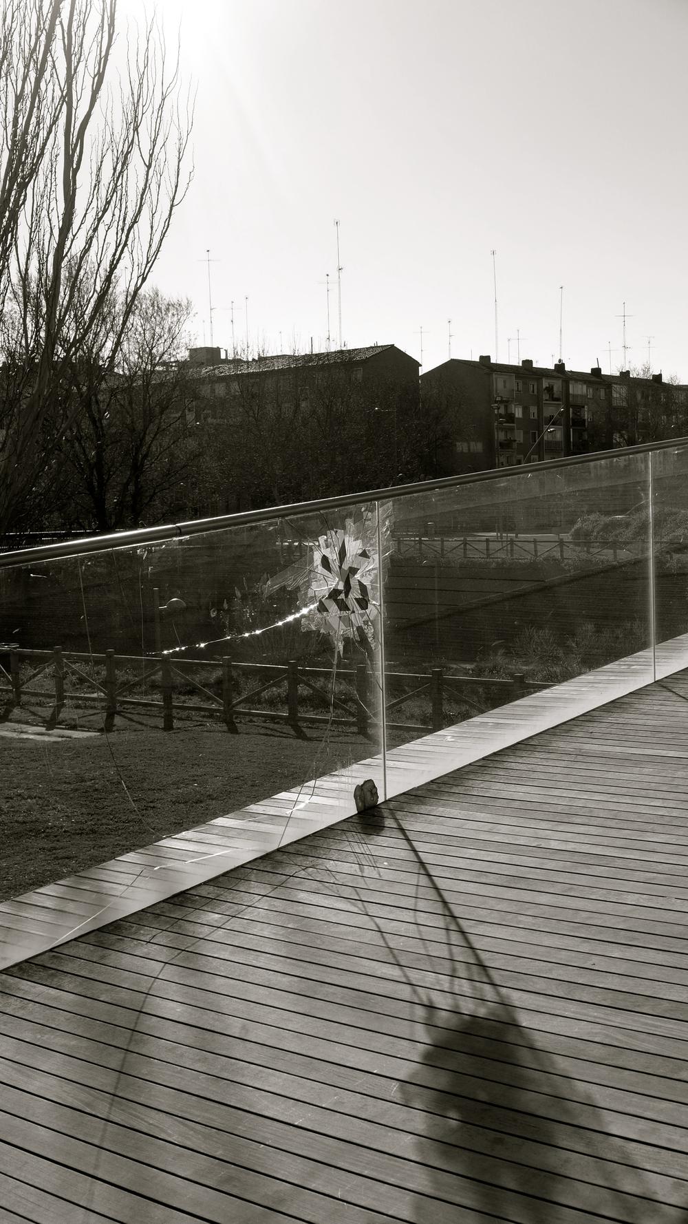 Arte casual en la desembocadura del Huerva - 6