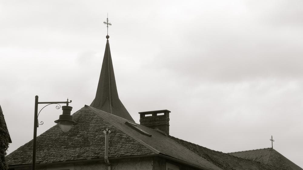 Tejados aguja cruces