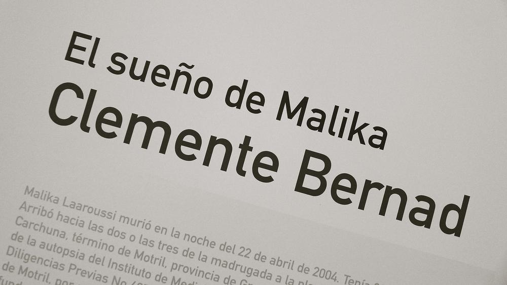 El sueño de Malika Clemente Bernard - 01