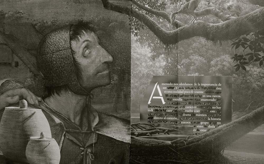 La parábola de los ciegos Collage - 1