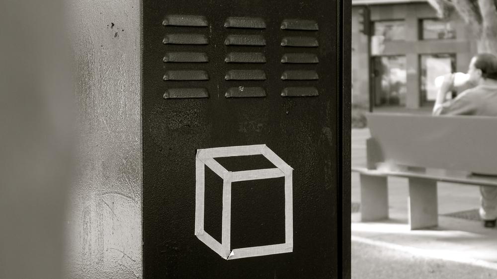 Cubo arte urbano