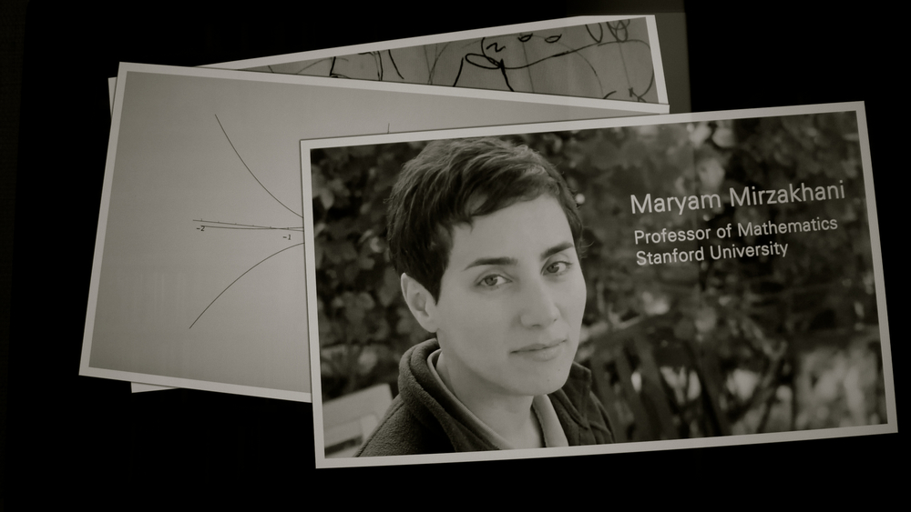 Maryam Mirzakhani professor