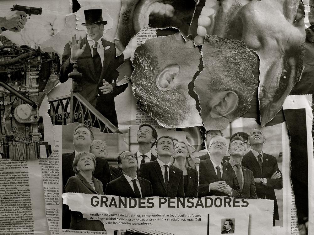 Collage Grandes pensadores - 03