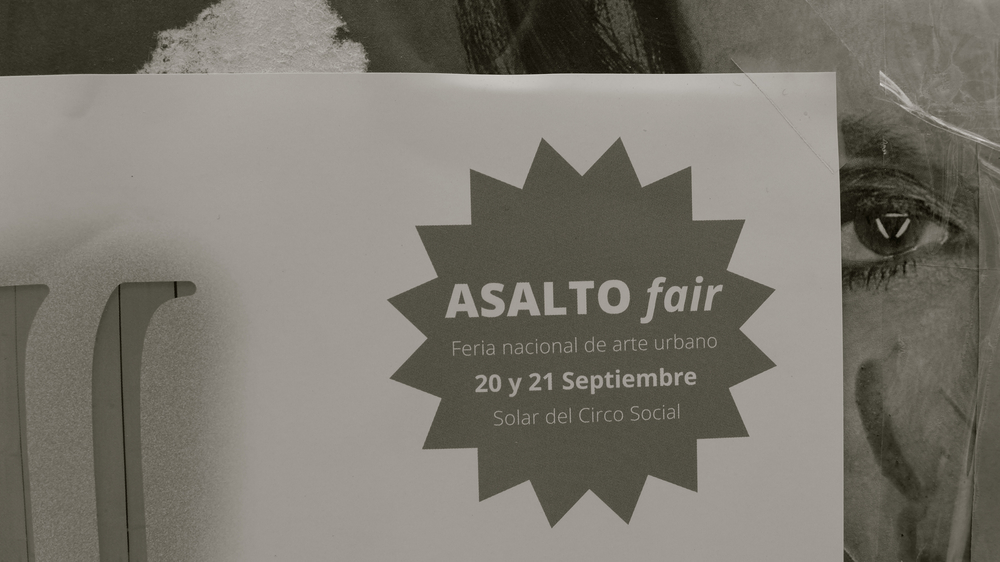 Asalto Fair cartel - 1