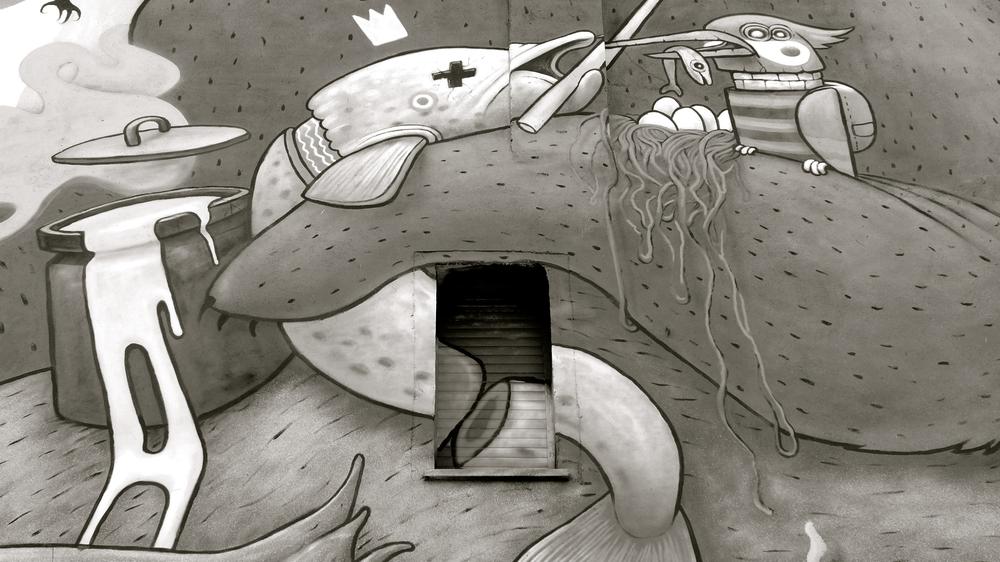 Graffiti 9 Asalto Dulk ventana