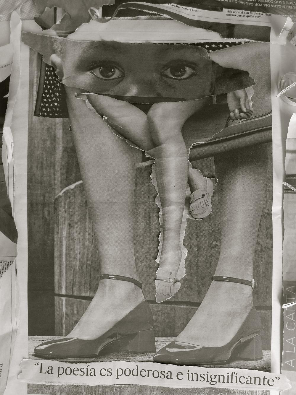 Collage Poesía a la carta bn