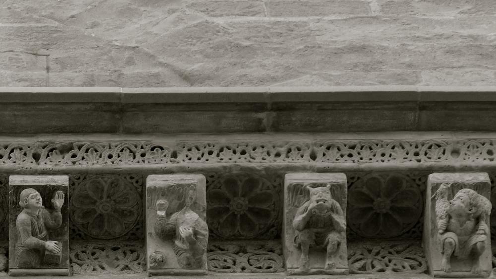 Esculturas La Seu Vella