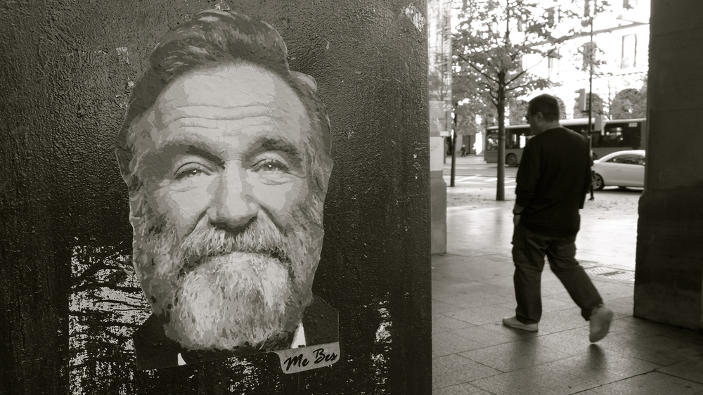 Robin Williams Peter Hapak Me Bes