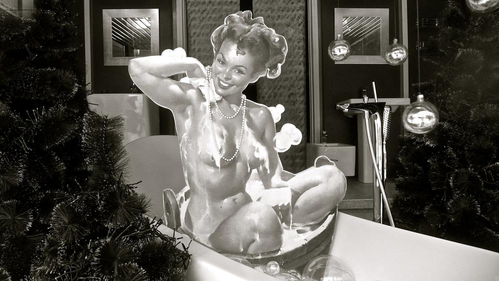 Baño navideño