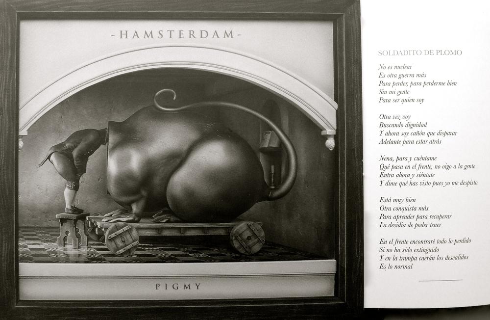 Pigmy Hamsterdam Soldado - 16