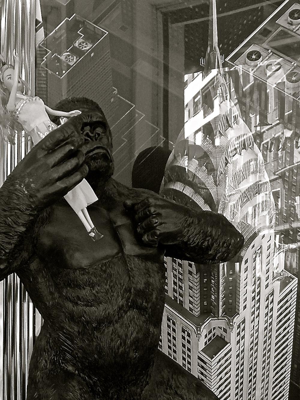 King Kong rubia