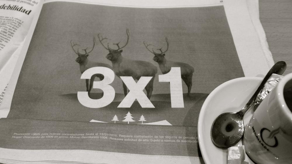 3X1 ciervos