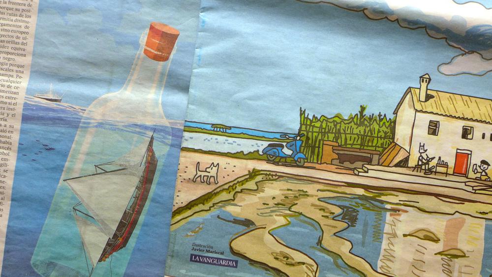 Ilustraciones adosadas Eva Vázquez Javier Mariscal - color