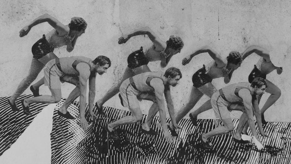 Collage de BYG caballo y atletas - 20