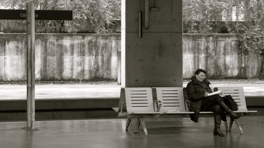 Lectora estación Córdoba