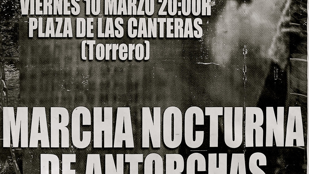 Marcha nocturna antorchas