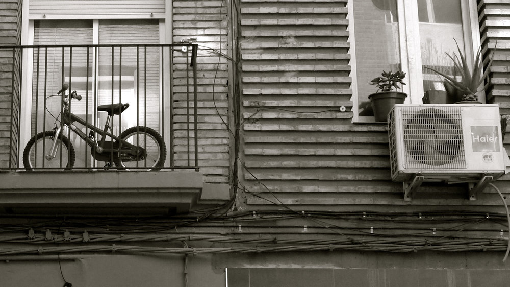 Bicicleta acondicionador