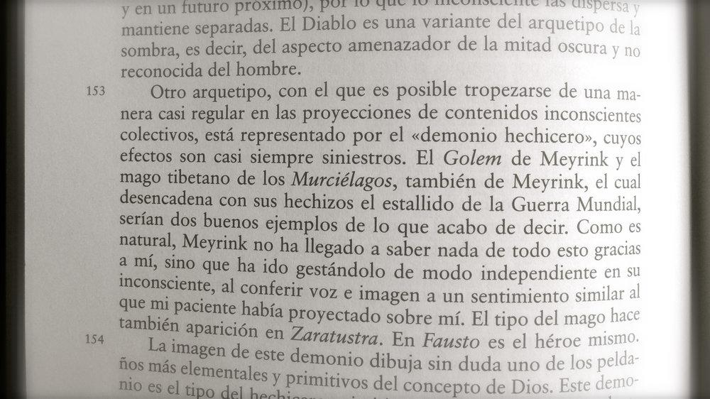 Jung cita a Meyrink