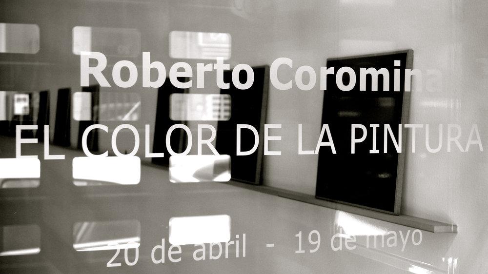 Roberto Coromina El color de la pintura