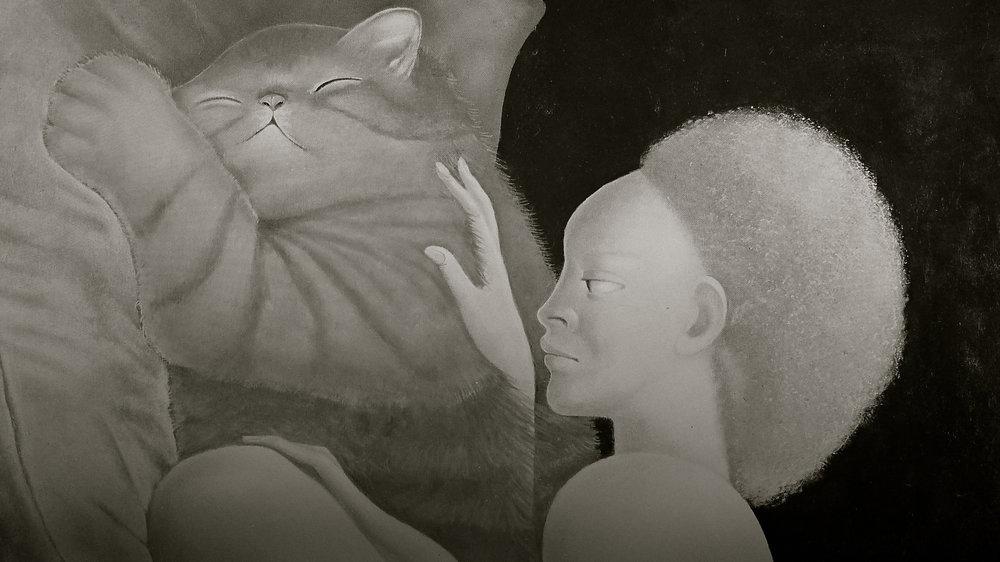 Leonor Fini gato