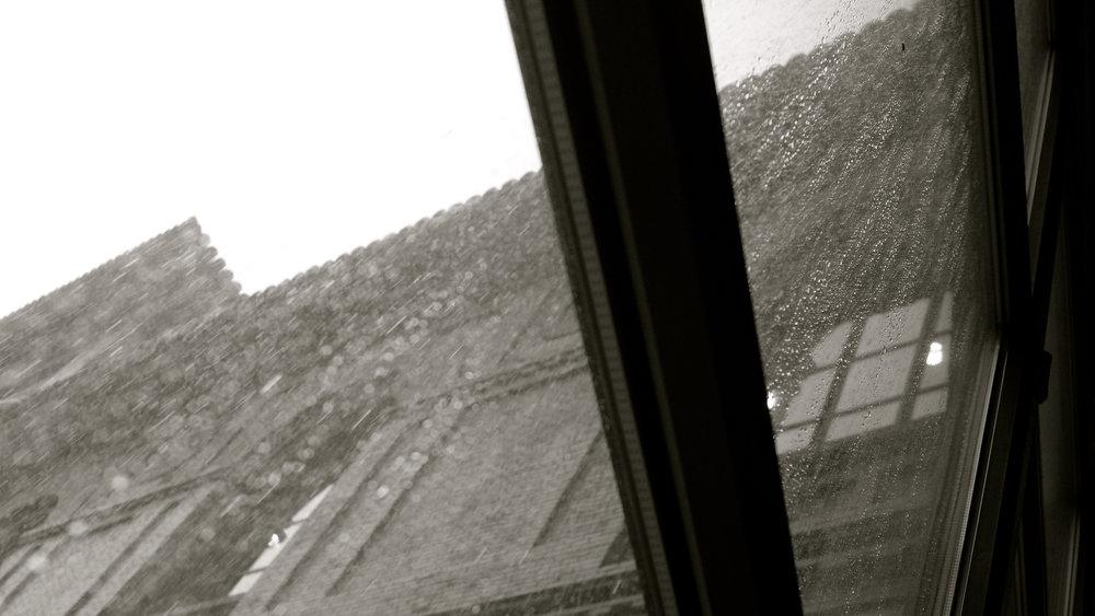Llueve sobre el Paraninfo