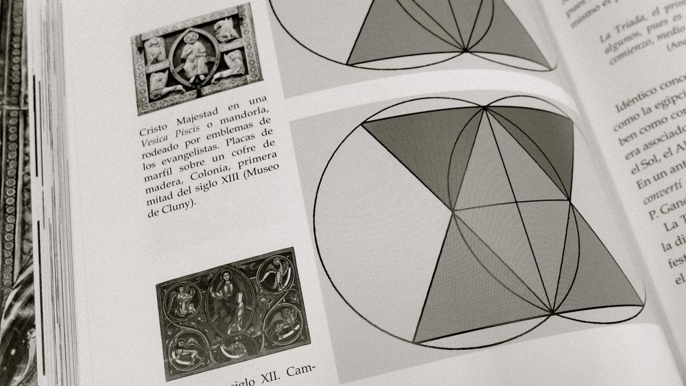 Vesica Piscis Libro geometría Sagrada