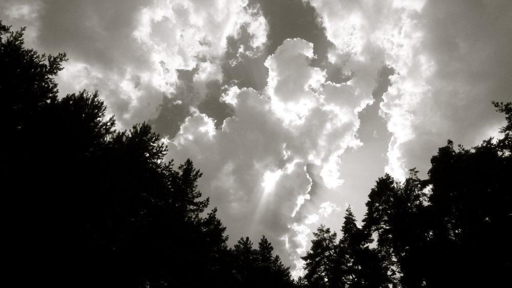 Nubes triángulo natural