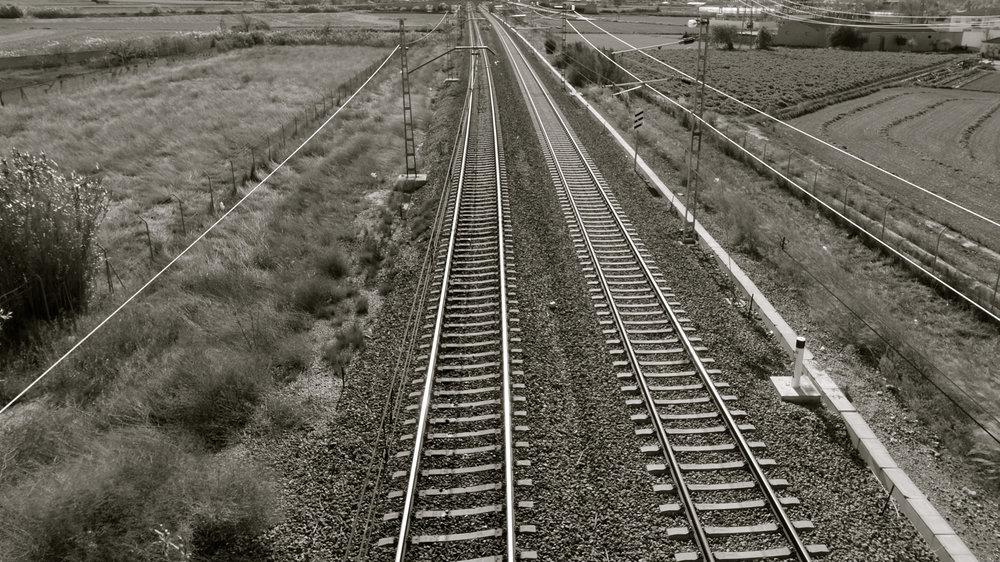 Vías tren Las Fuentes - 202