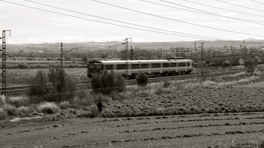 Agricultor tren Las Fuentes - 169