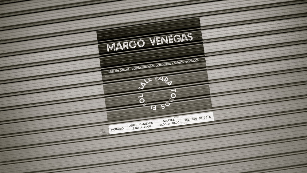 Cartel Margo Venegas