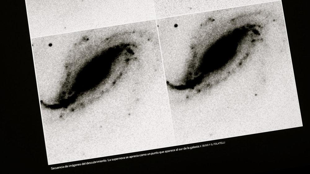 Nacimiento de una supernova - 5  galaxia espiral NGC 613