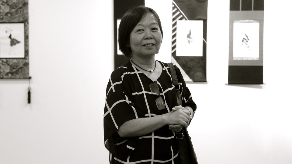 Kumiko  - bn retrato