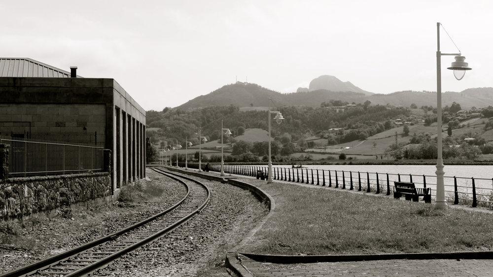 Vía tren Ribadesella