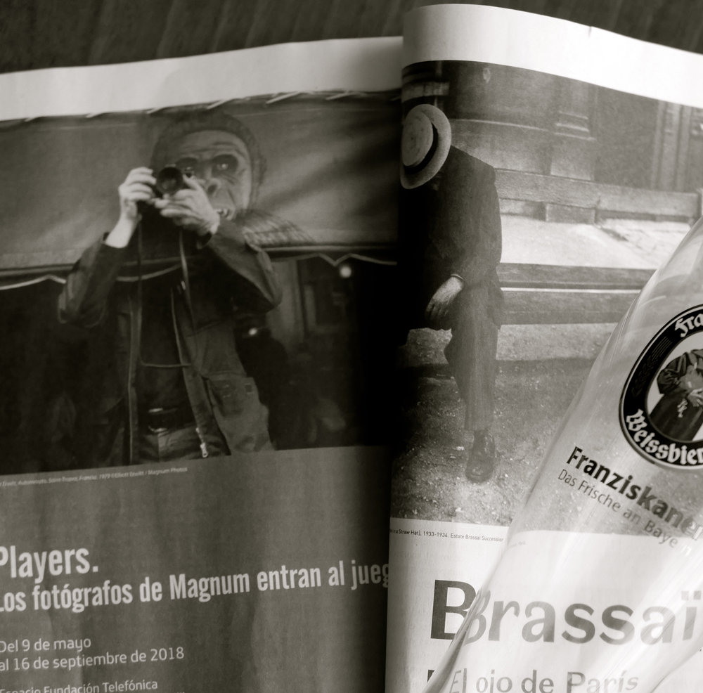 Players. Magnum. Brassai